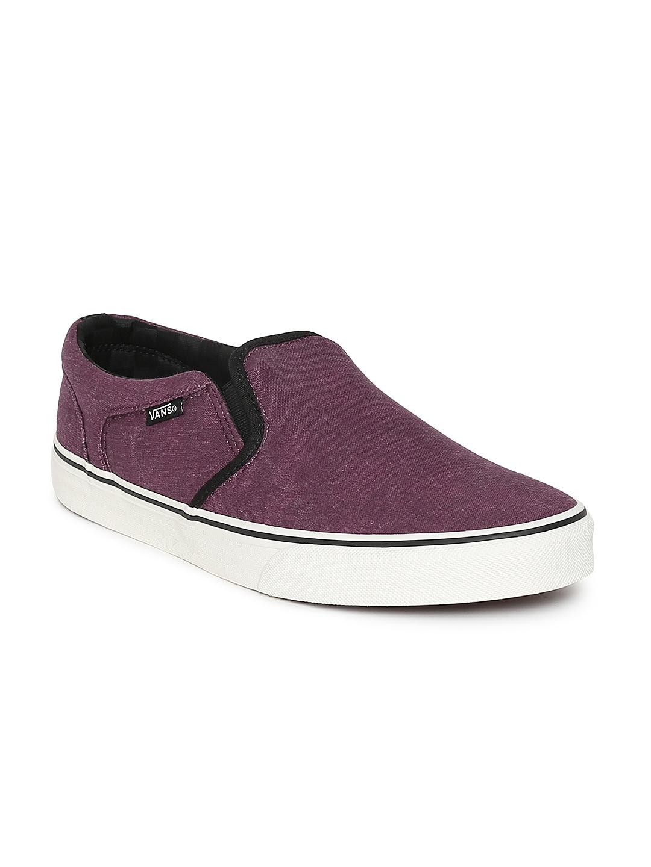 7793a40adadd5b Vans Maroon Casual Shoes - Buy Vans Maroon Casual Shoes online in India