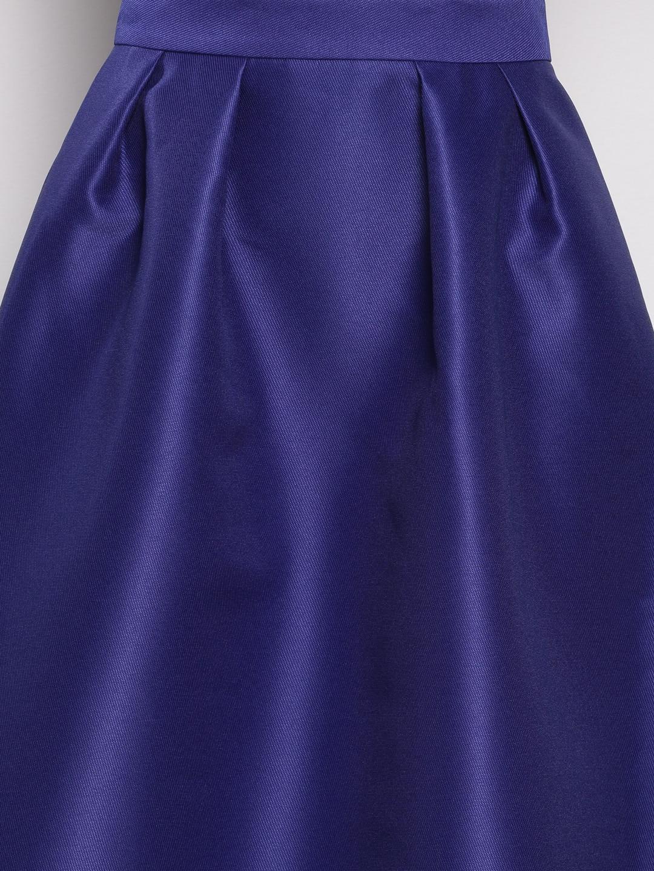 Blue Midi Skirt - Buy Blue Midi Skirt online in India