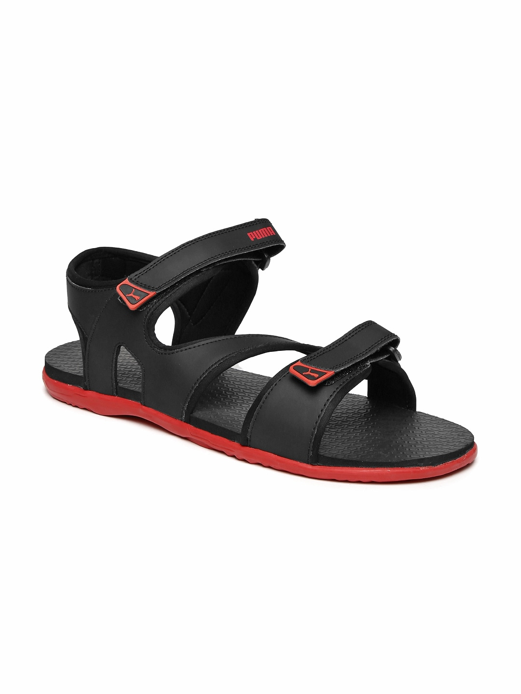 28cee2d12467 Puma Men Black Sports Sandals Sandal - Buy Puma Men Black Sports Sandals  Sandal online in India