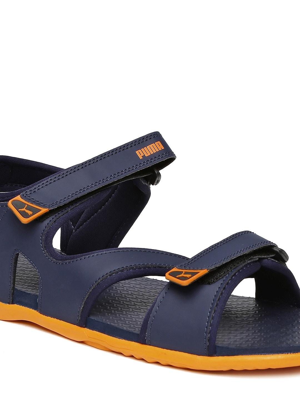 Puma black velcro sandals - Puma Black Velcro Sandals 52