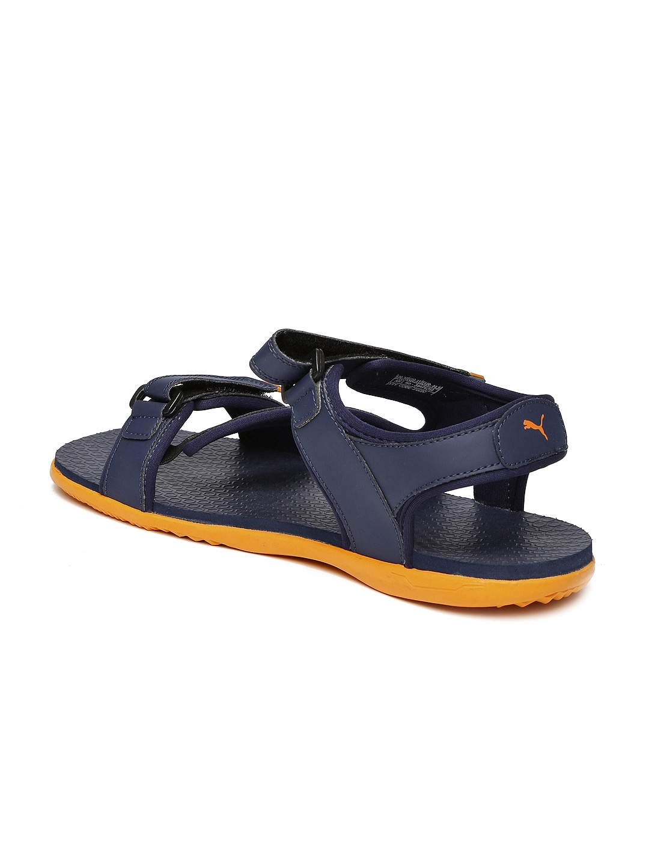 Puma black velcro sandals - Puma Black Velcro Sandals 51