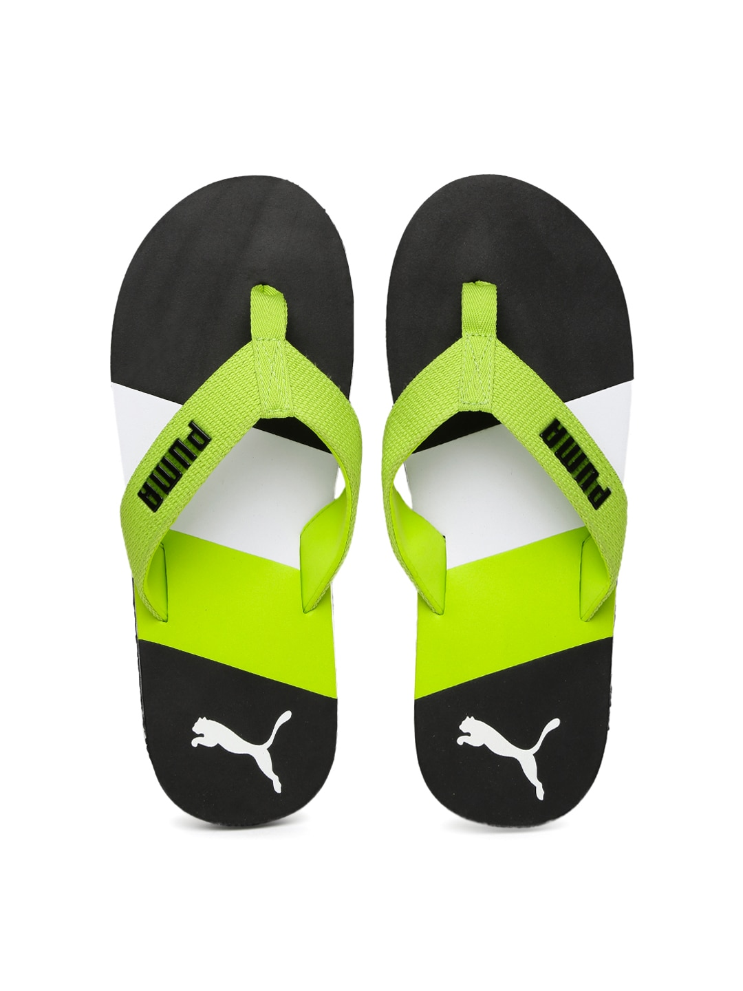 277a34e74987 Puma Green Flip Flops - Buy Puma Green Flip Flops online in India