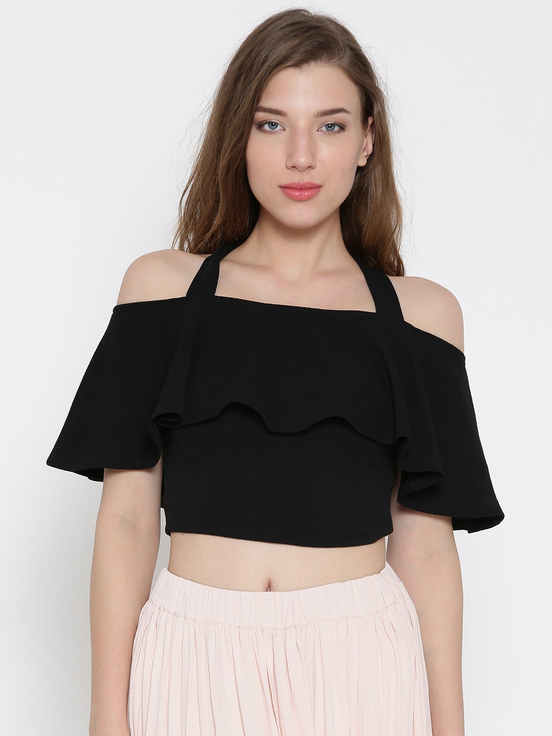 dea6ddcfac8b71 Crop Tops - Buy Midriff Crop Tops Online for Women in India