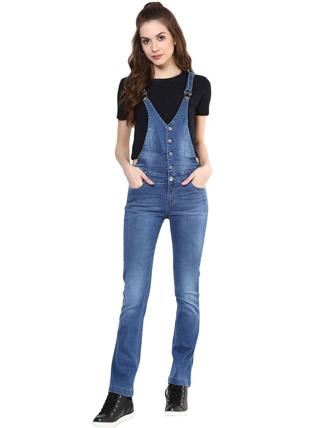 fdedb1e4b1 Dungarees - Buy Dungarees Dress for Women Online - Myntra