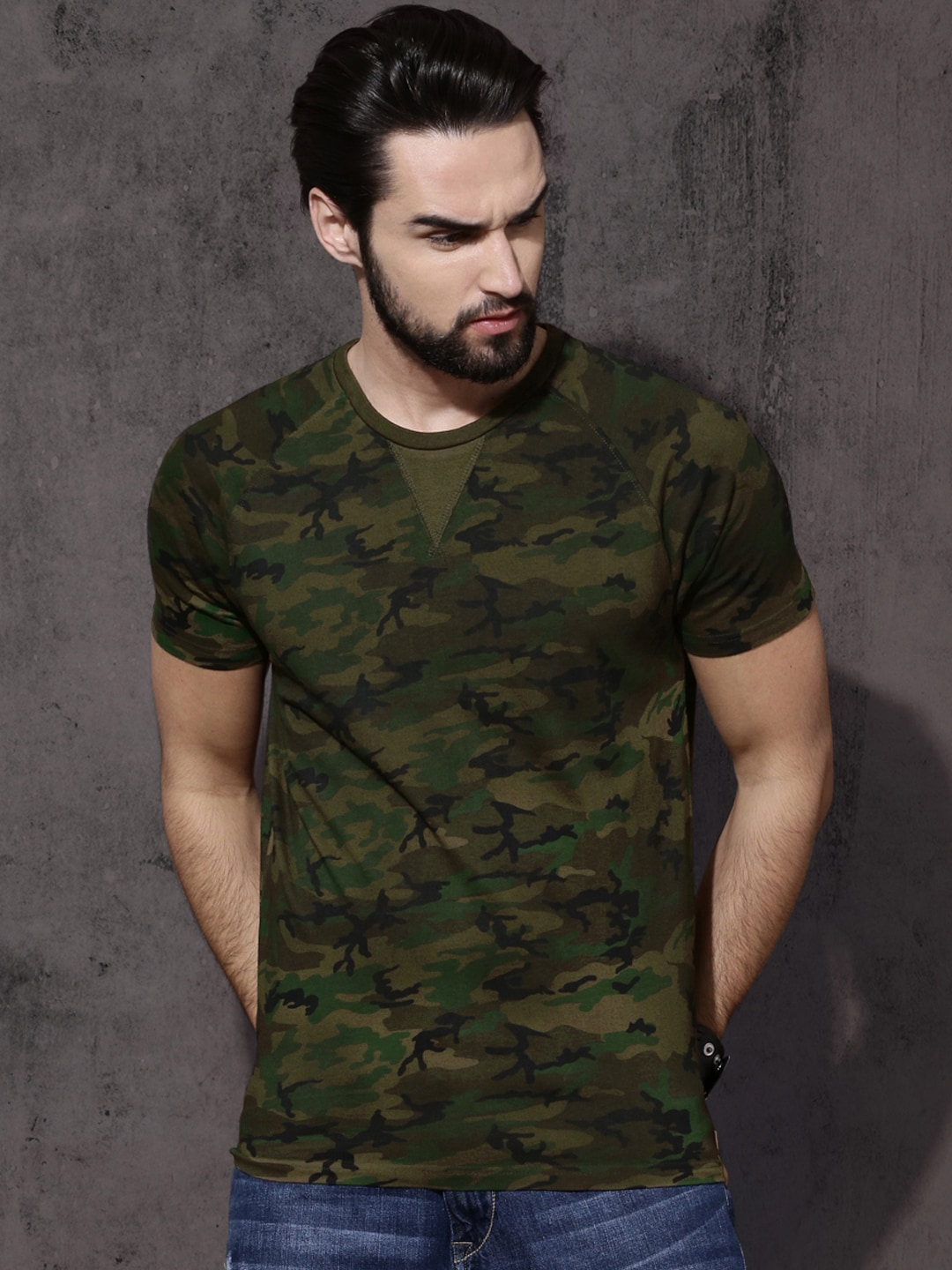 Military Tshirts - Buy Military Tshirt Online in India  80e90315562