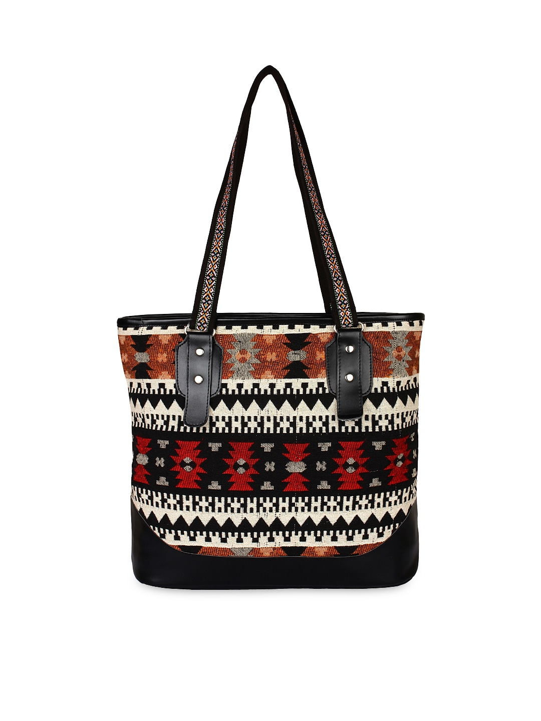 7c4e4d10 Anekaant Multicoloured Patterned Tote Bag