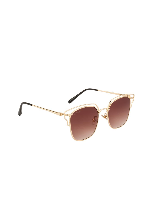 Ted Smith Women Gradient Rectangular Sunglasses TS-J897S