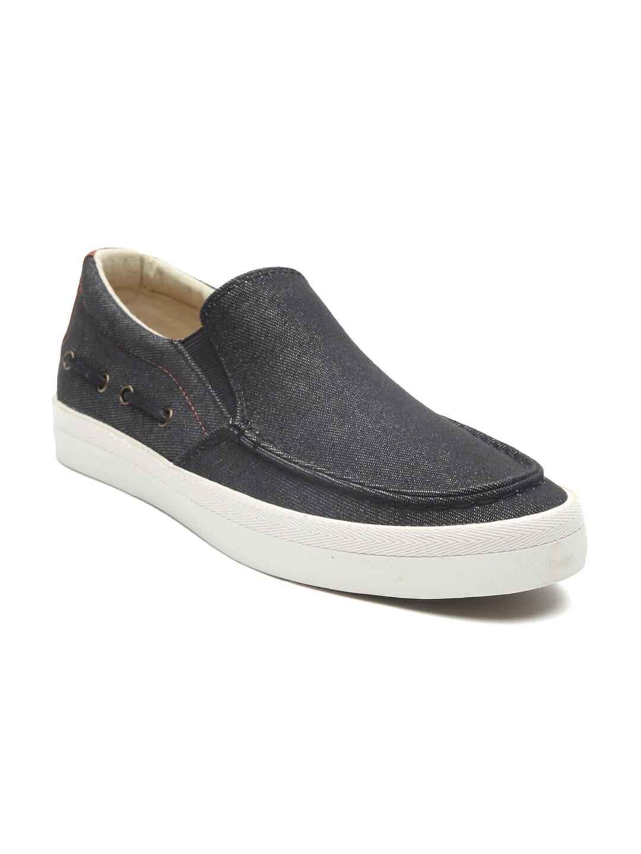 7d42cb79ff6 Call It Spring Men Black Slip-On Sneakers