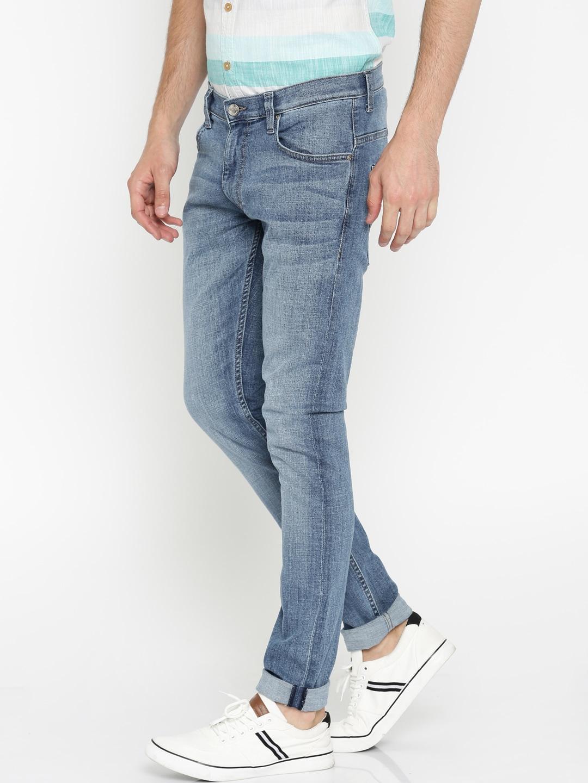 Lee Men Blue Luke Skinny Fit Stretchable Jeans