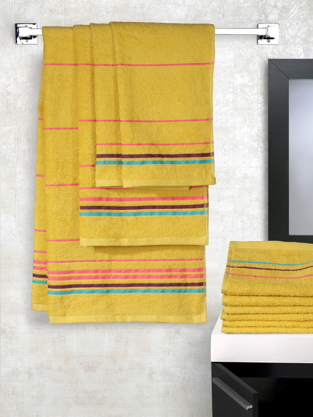 Trident Towel Set - Buy Trident Towel Set online in India 2a2f1d58c