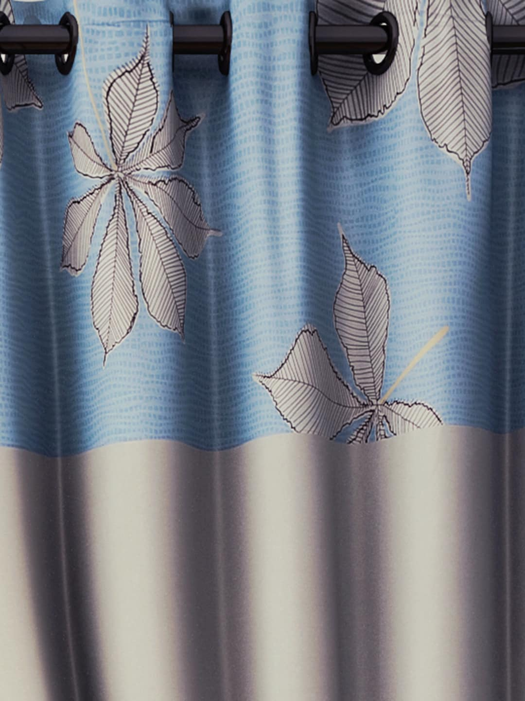 Blue and brown window curtains - Curtains Buy Window Curtains Door Curtains Sheers Online Myntra