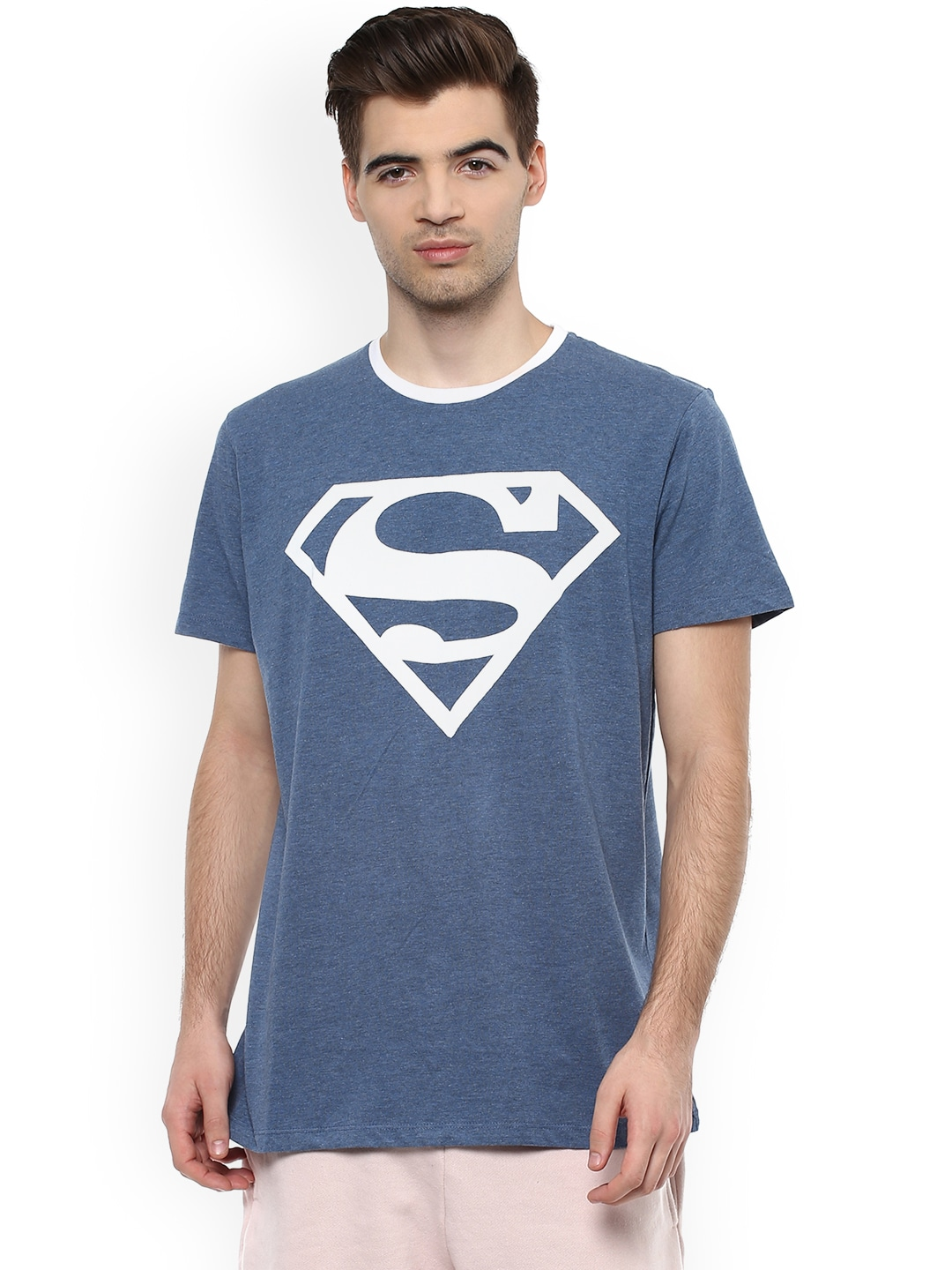 c347fdabf4646f Superman T-shirts Buy Superman T-shirt Online in India at Myntra