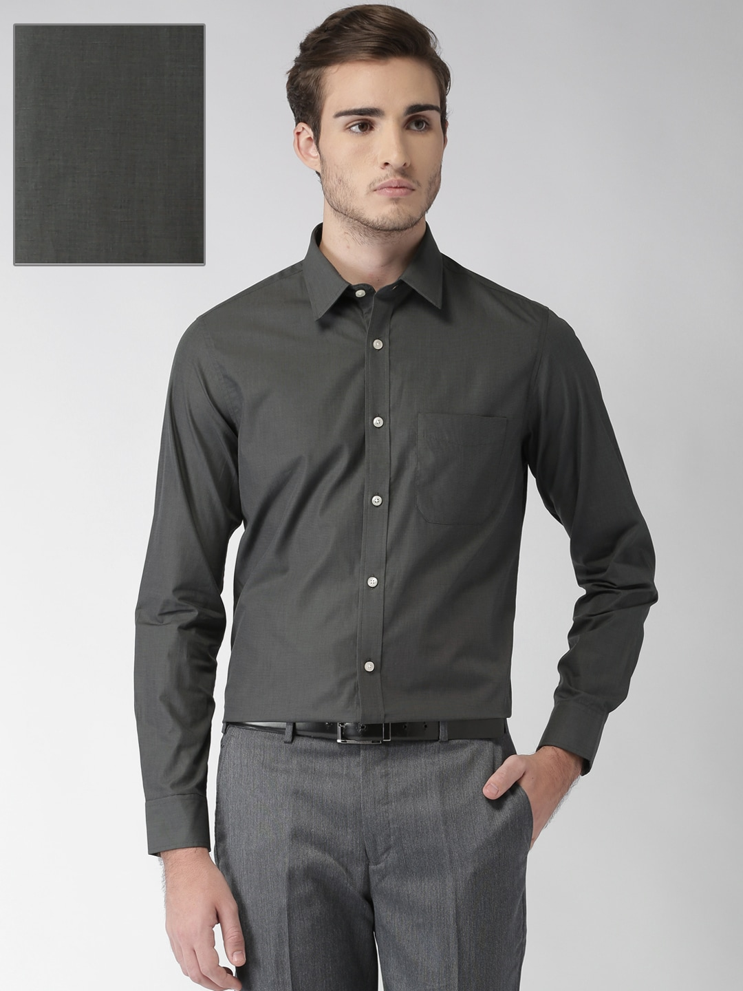 dfbea1be4fb Solid Shirts - Buy Solid Shirts Online in India