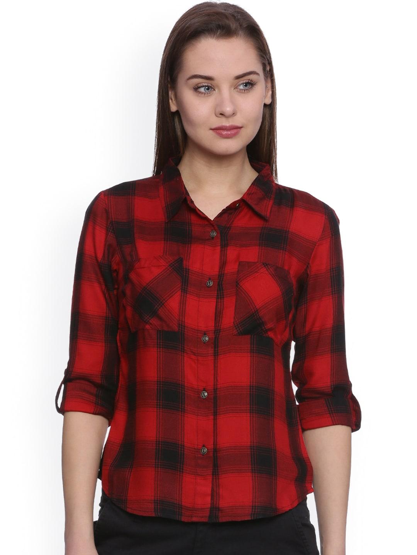 Check Shirts for Women - Buy Ladies Check Shirts Online - Myntra