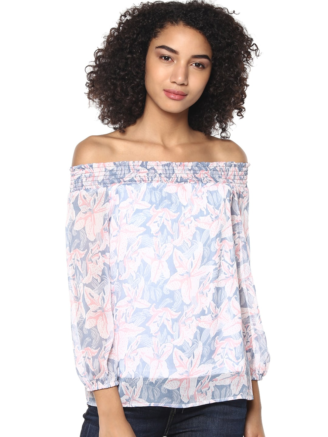 00107753a105c3 Ladies Tops - Buy Tops   T-shirts for Women Online