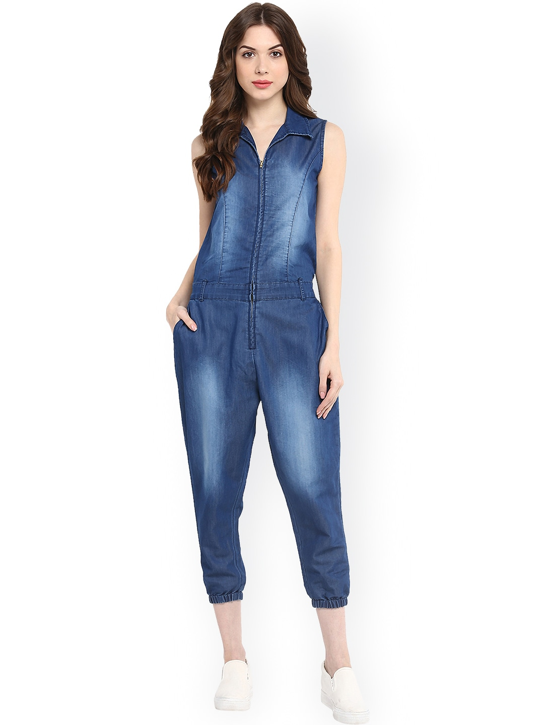 0a0e5b6417 Jumpsuit In Denim - Buy Jumpsuit In Denim online in India