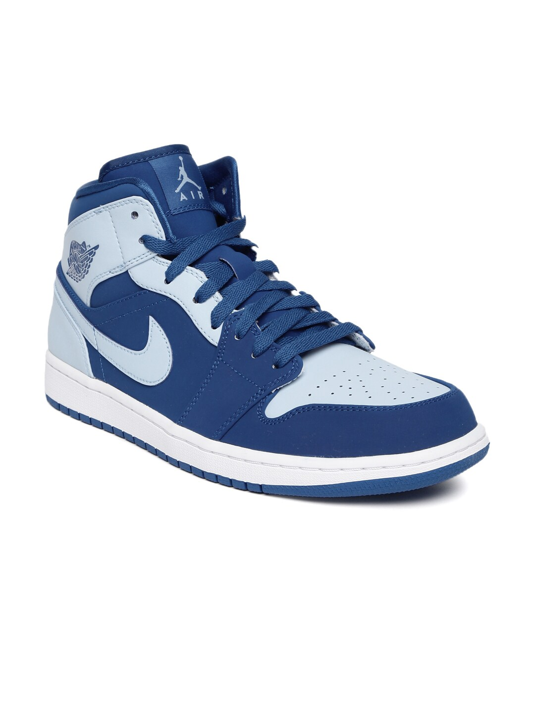 nike air jordan new school blue black mens basketball shoes. Black Bedroom Furniture Sets. Home Design Ideas