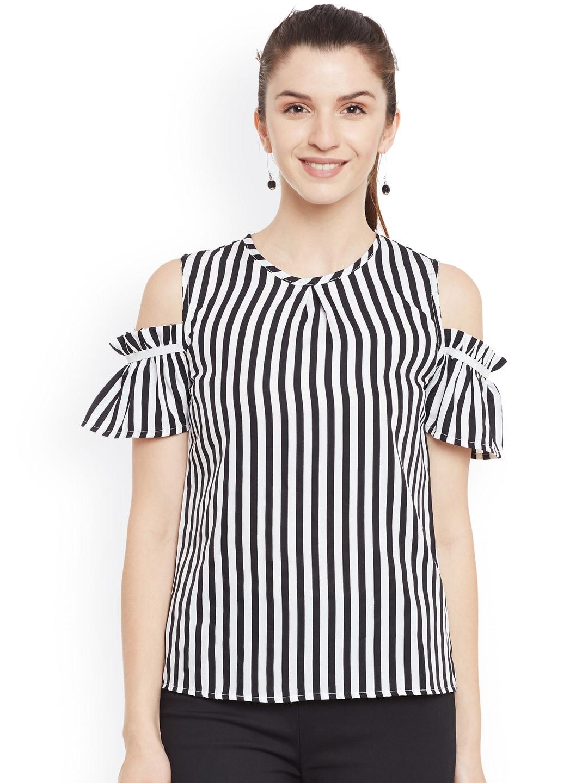 db56b29045936b Cold Shoulder Tops - Buy Cold Shoulder Tops for Women Online - Myntra