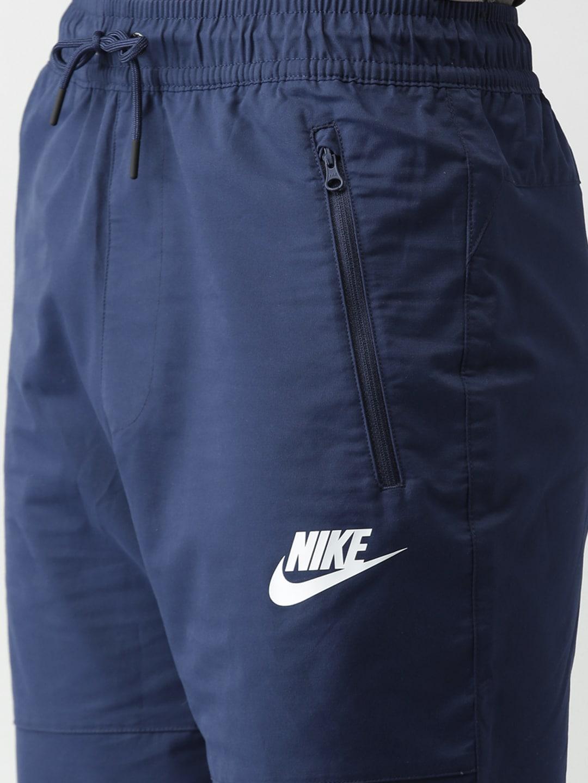 Nike Navy Blue Bottomwear - Buy Nike Navy Blue Bottomwear online in India