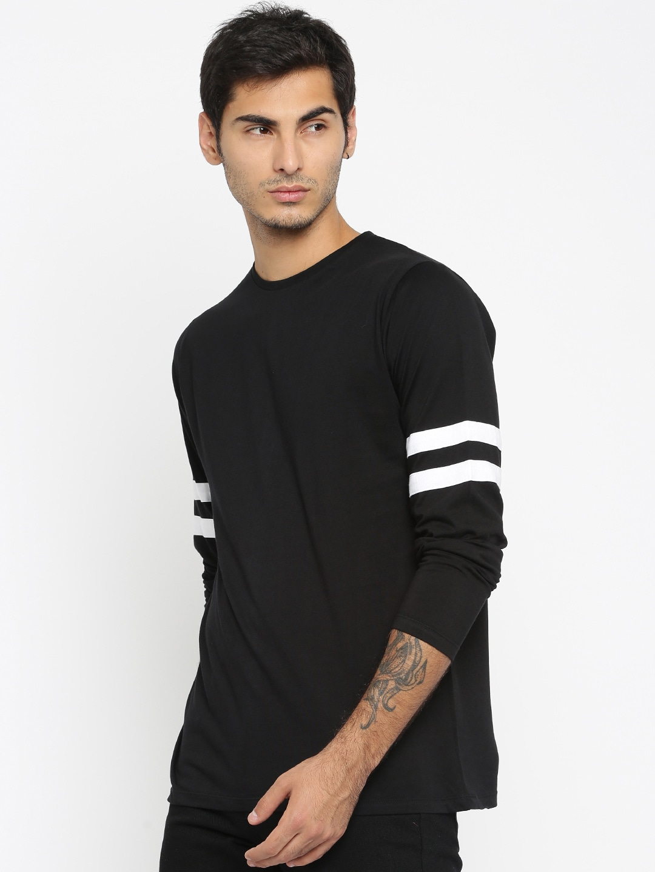 Black t shirt jabong - Long Sleeve T Shirts For Men Buy Mens Long Sleeve T Shirts Online In India