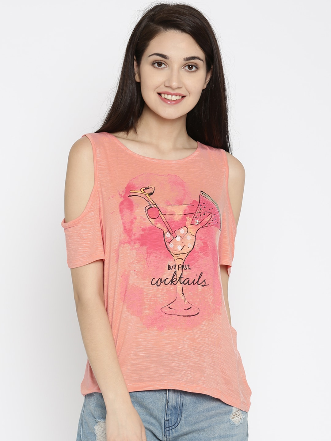 Ladies Tops - Buy Tops & Tshirts for Women Online in India - Myntra