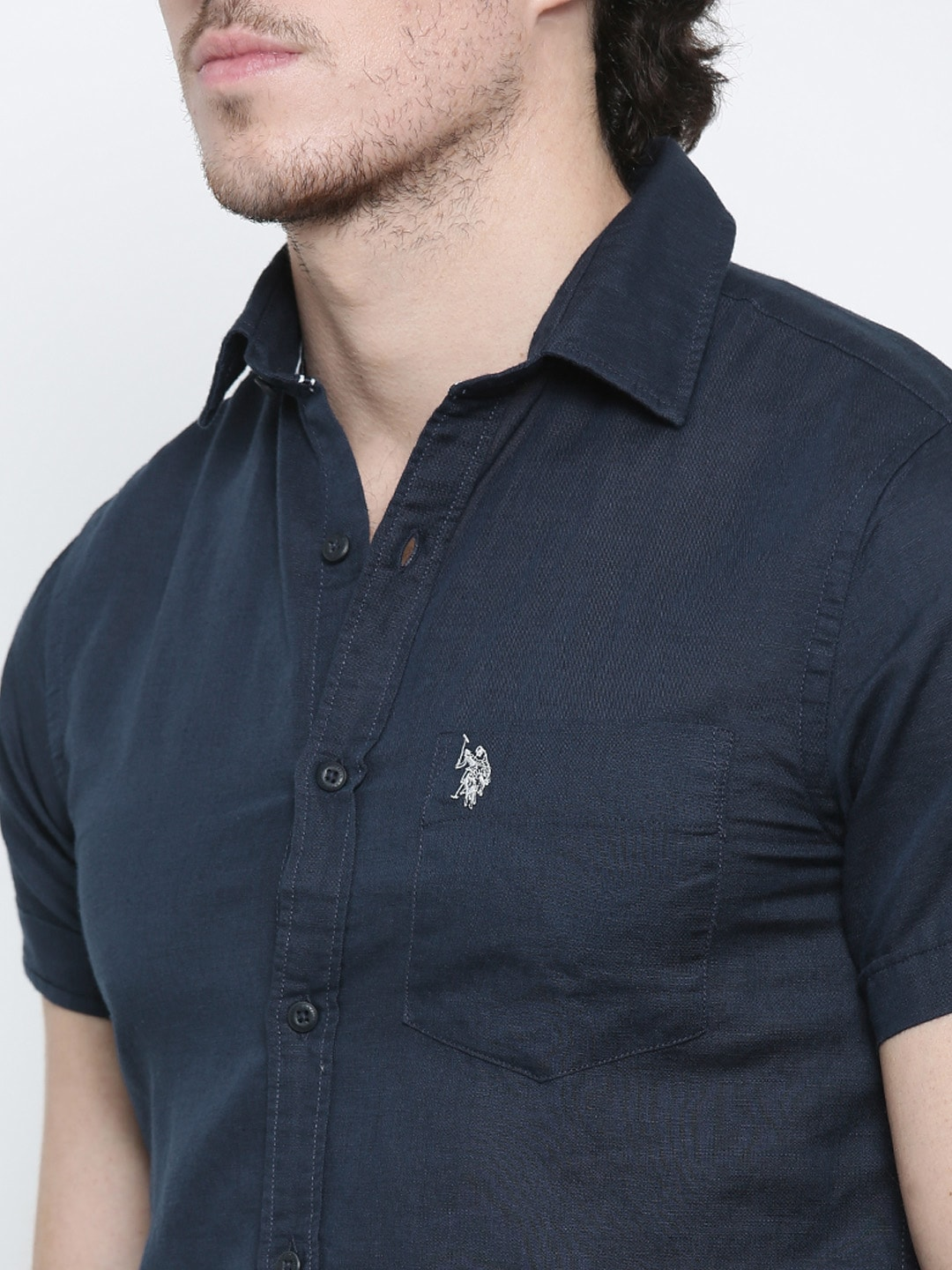 ca00a9f93 Us Polo Linen Shirts Online India