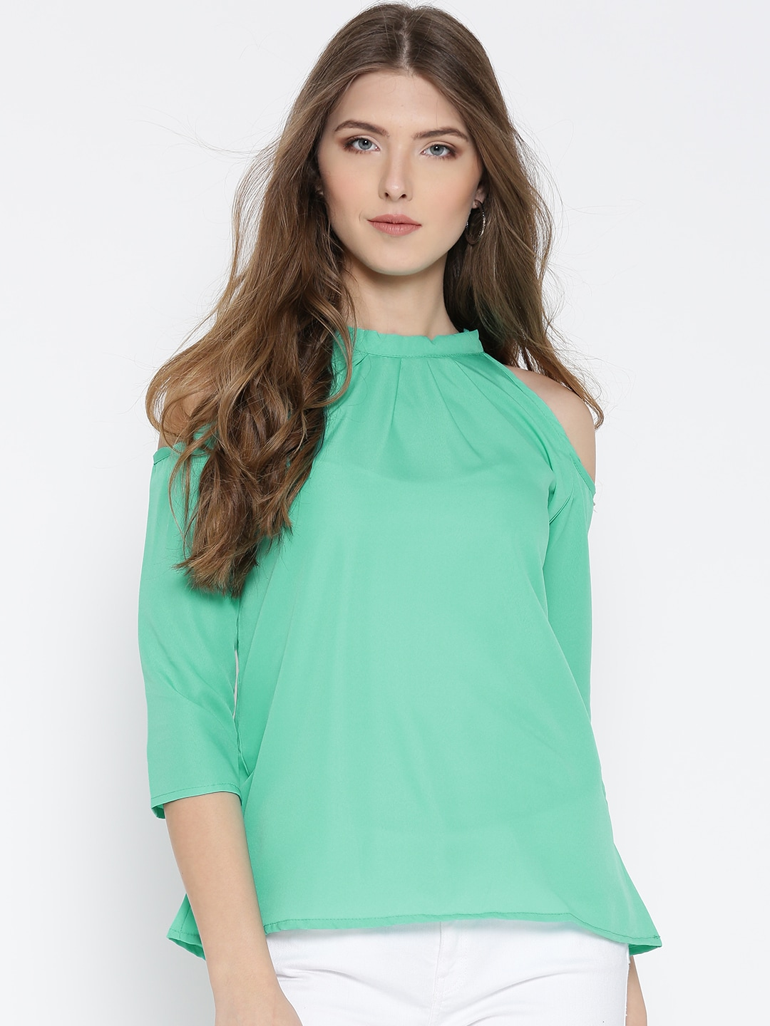 Cold Shoulder Tops - Buy Cold Shoulder Tops for Women Online - Myntra