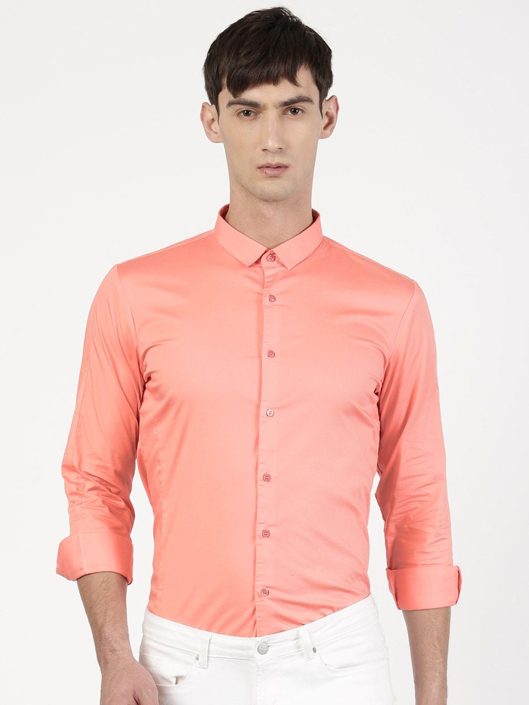 Peach Shirt For Men Custom Shirt