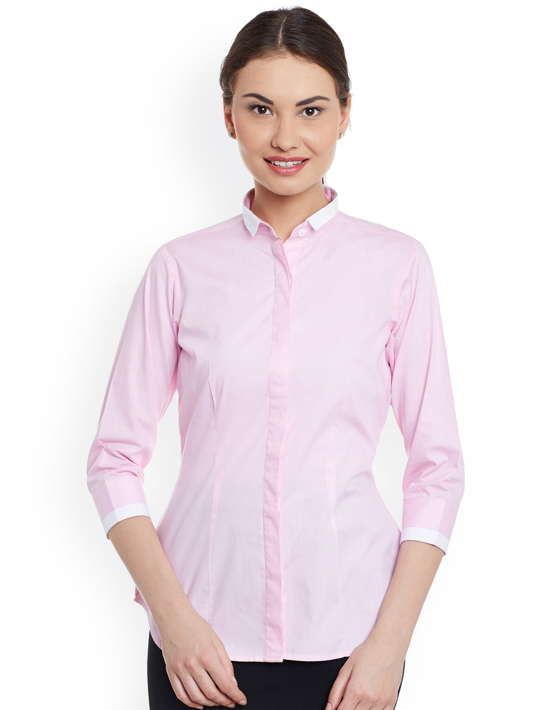 2f21ac1e7144f Women Formal Shirt - Buy Women Formal Shirt online in India