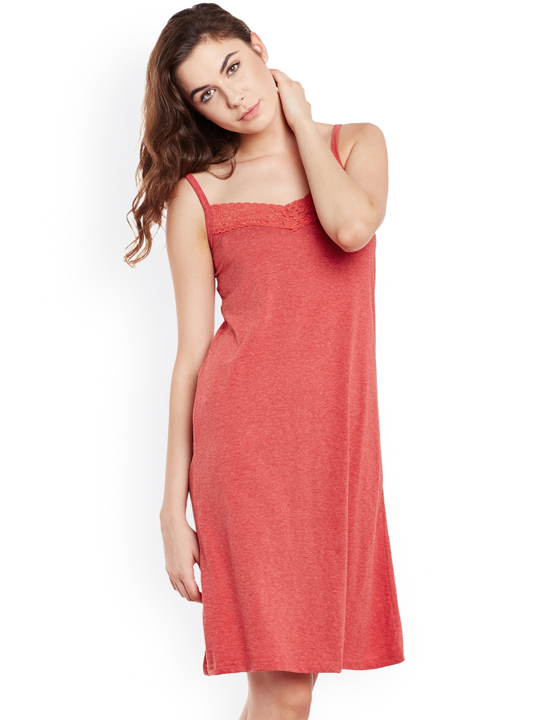 hot product great variety styles choose genuine Claura Women Red Nightdress