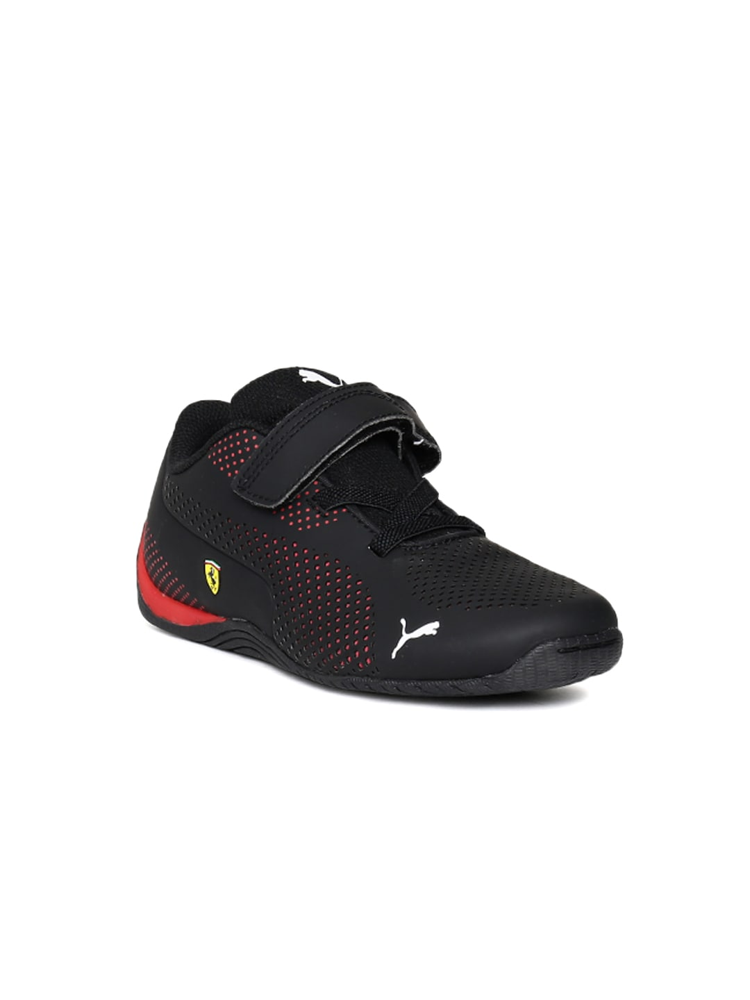 bf1794080057 Puma Kids Black SF Drift Cat 5 Ultra V PS Sneakers