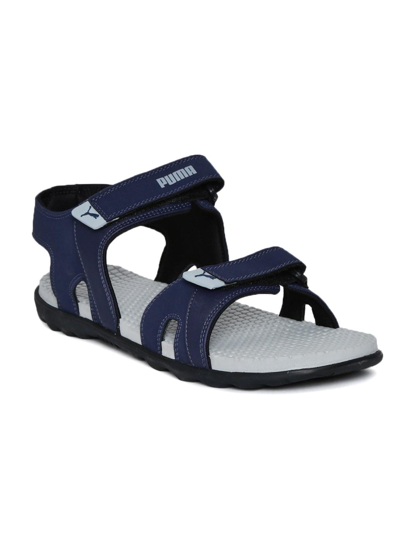 422cc2d1c1f9 Puma Men Blue Sandal - Buy Puma Men Blue Sandal online in India