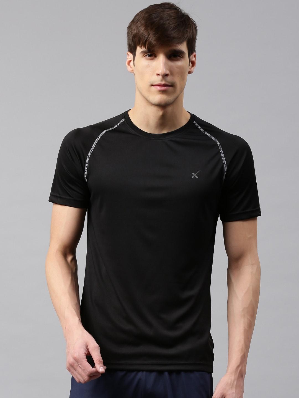Solid Black Tshirts - Buy Solid Black Tshirts online in India b8b5a1ccd81