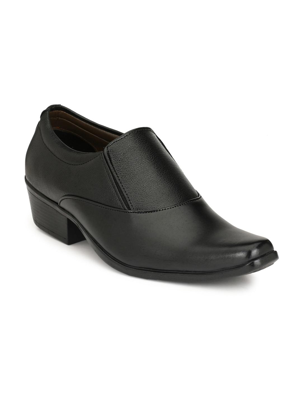 Sir Corbett Men Black Formal Shoes
