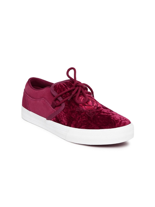 925bdd501dc1c Supra Disney Women Red CUBANA Skate Shoes