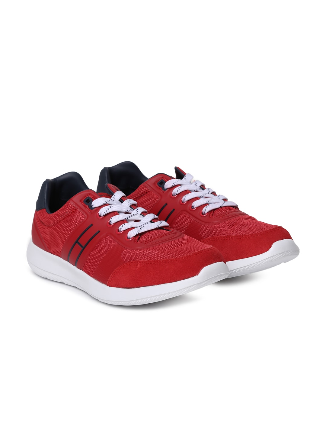252e8c88d3c933 Tommy Hilfiger Red Casual Shoes - Buy Tommy Hilfiger Red Casual Shoes  online in India