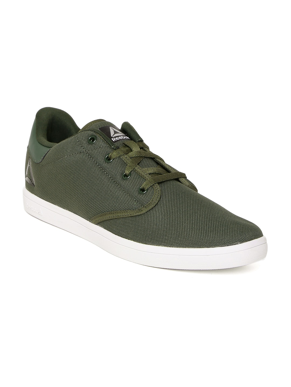 Reebok Olive Green Shoe - Buy Reebok Olive Green Shoe online in India 8cde14e5ad