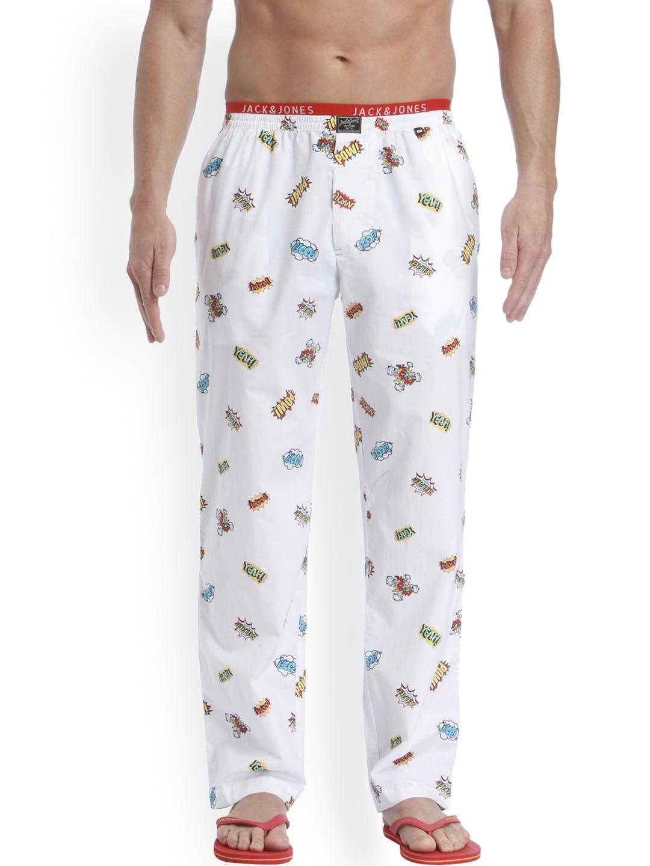 marktfähig exquisite handwerkskunst Original kaufen Jack & Jones White Printed Pyjamas 1954241004