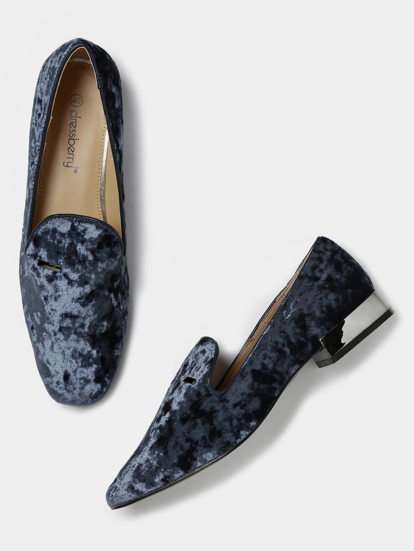a8e5abaff6c Velvet Shoes Flats - Buy Velvet Shoes Flats online in India