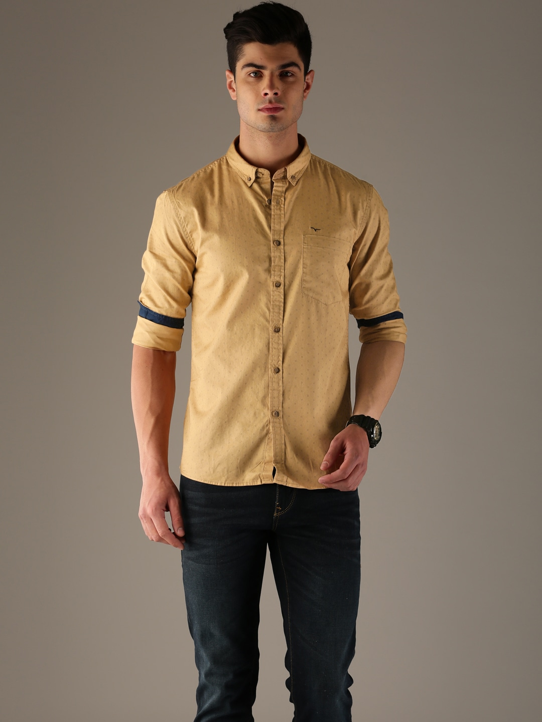 a69fae373e Casual Shirts for Men - Buy Men Casual Shirt Online in India