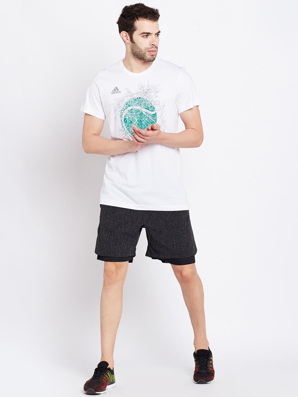 T shirt adidas white - T Shirt Adidas White 10