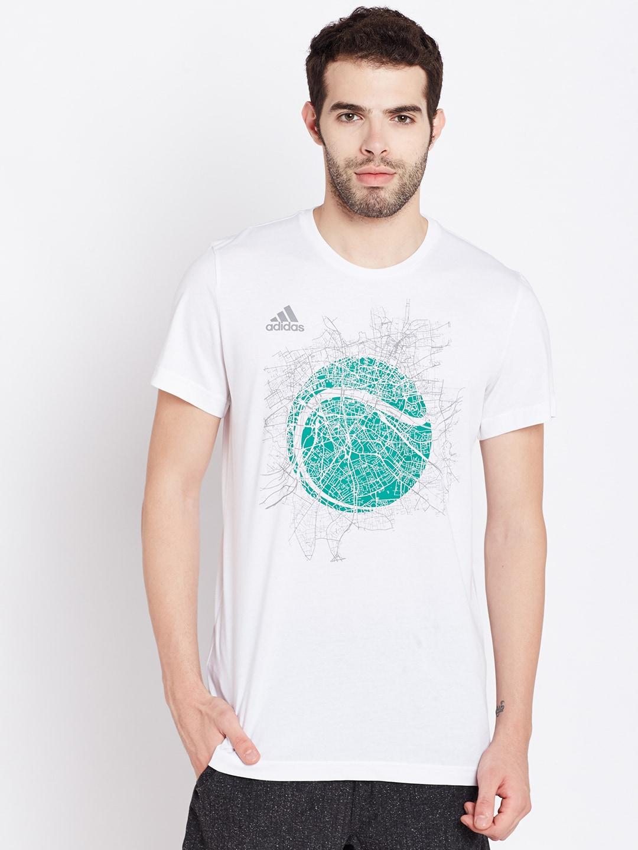 T shirt adidas white - T Shirt Adidas White 58