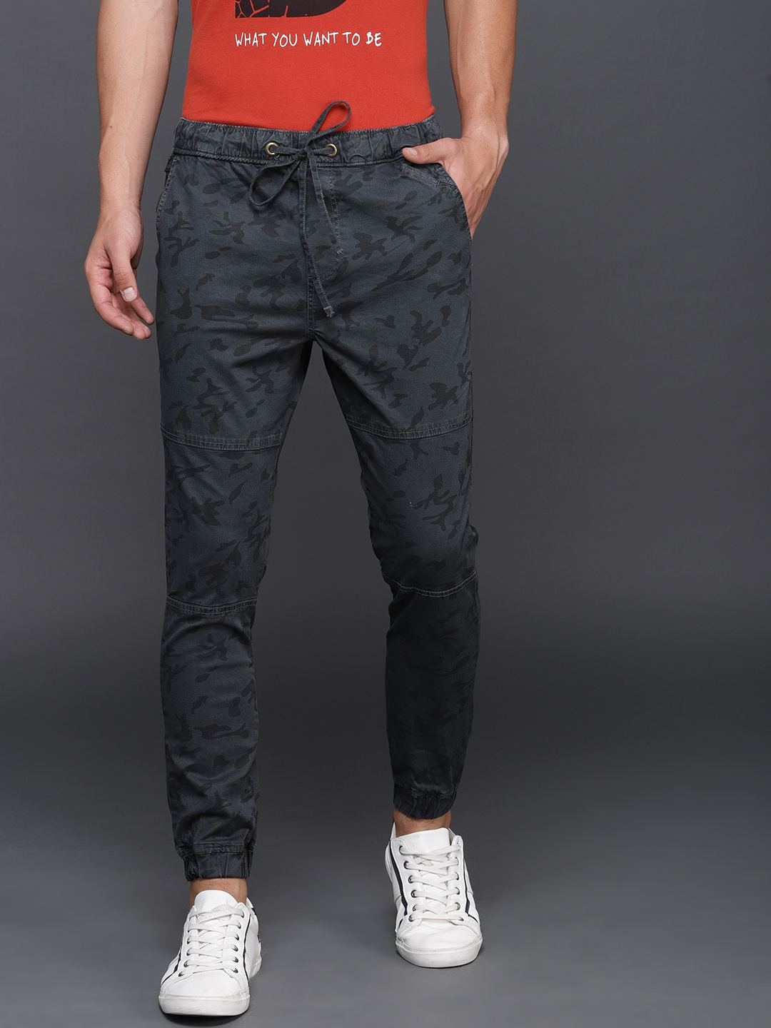 aa60e8766487 Joggers - Buy Joggers Pants For Men and Women Online - Myntra