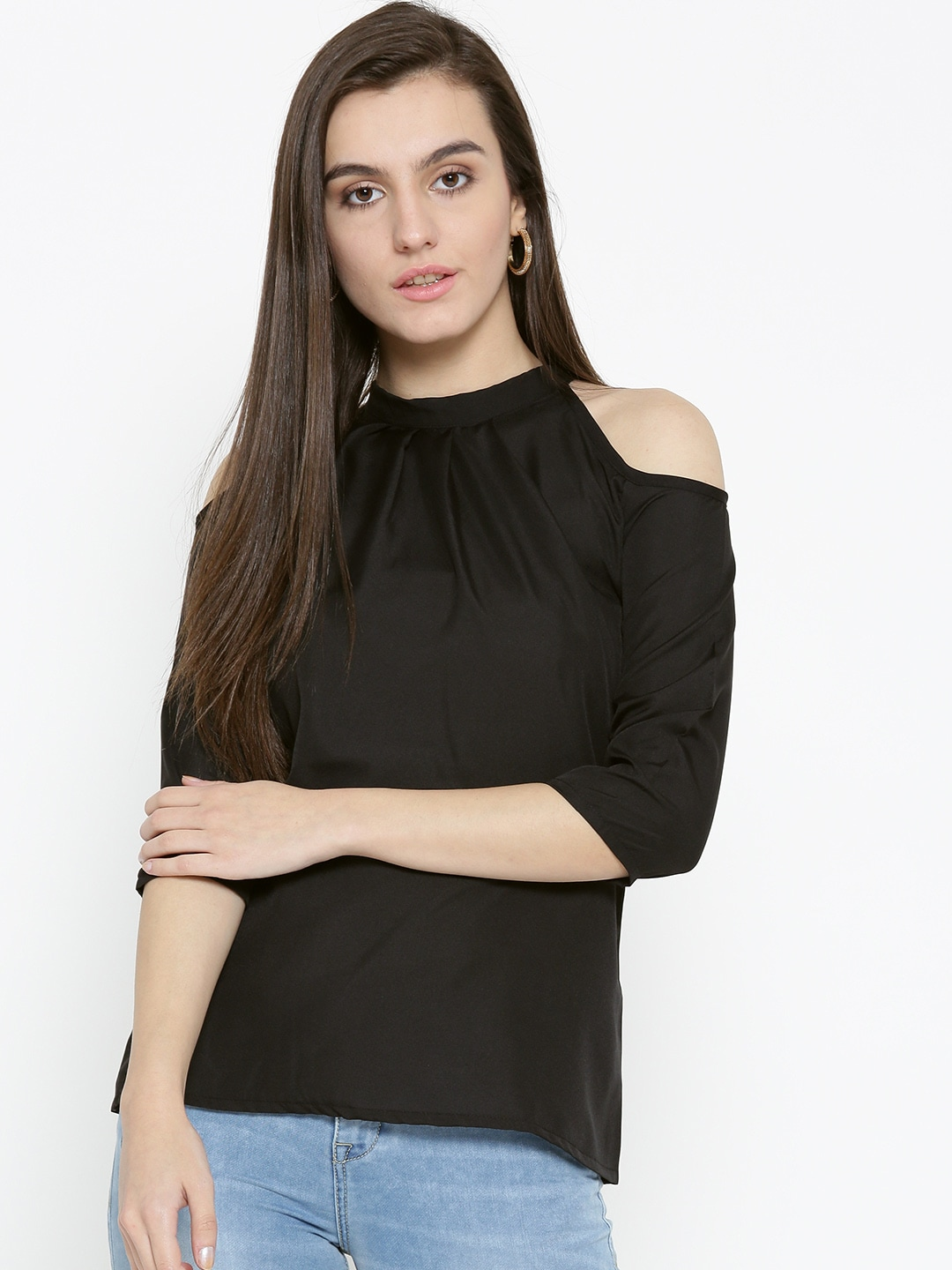 9d0674ab0708 Cold Shoulder Tops - Buy Cold Shoulder Tops for Women Online - Myntra