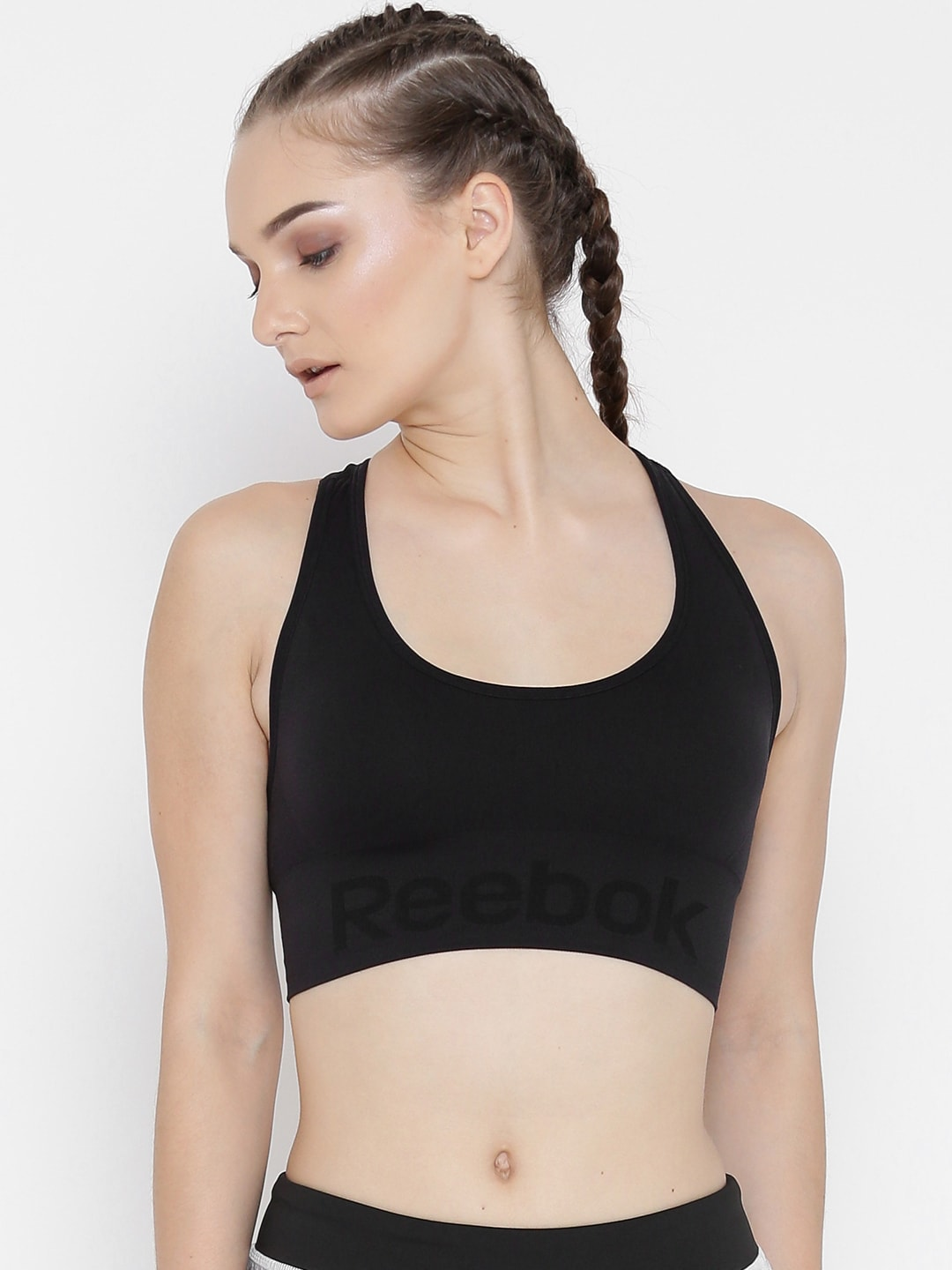 aaccf4eb13104 Black Sports Bra - Buy Black Sports Bra online in India
