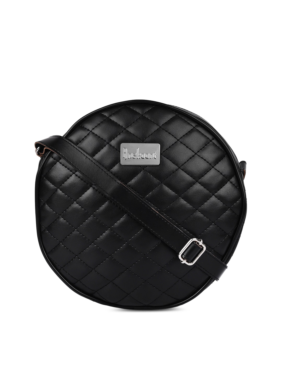 59f1a43eadd7 Anekaant Black Quilted Sling Bag