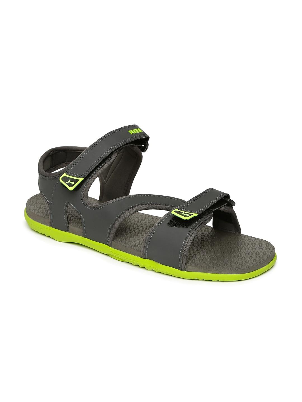 116cc584aac4 Puma Men Grey Sandal - Buy Puma Men Grey Sandal online in India
