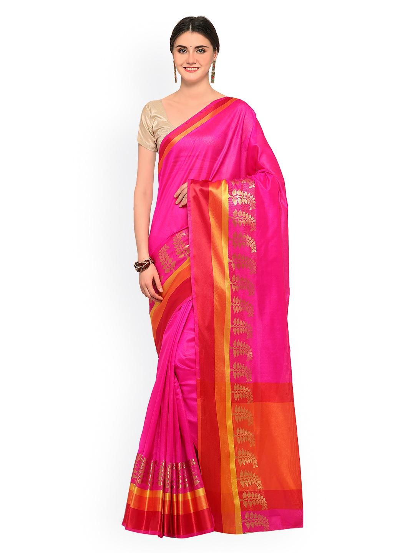 a131f49abb0fed Pink Saree