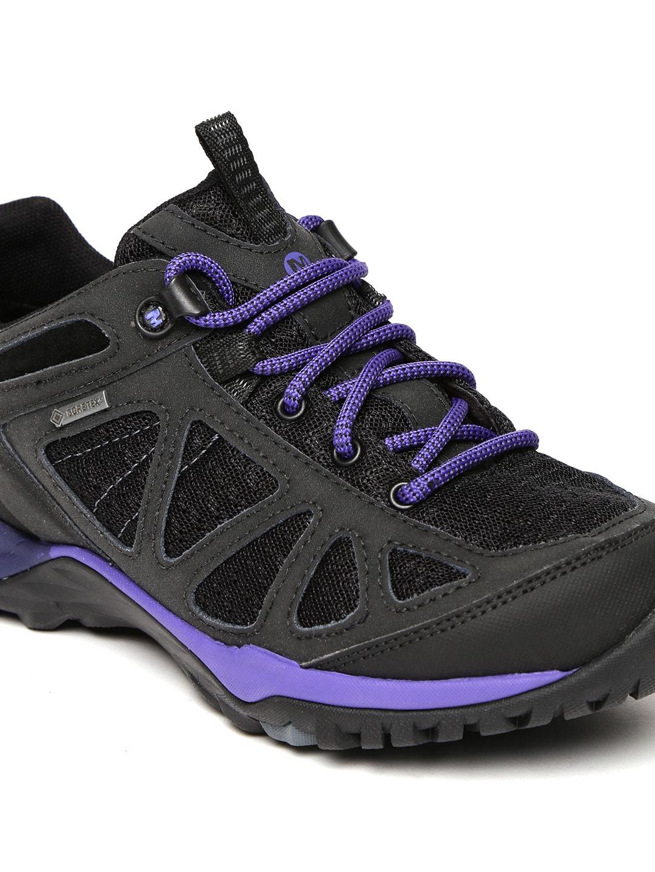 Merrell Women Black SIREN SPORT Q2 GTX Nubuck Leather Trekking Shoes