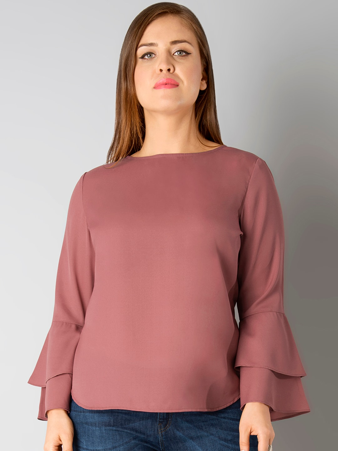 08afd4068329e7 Faballey Mustard Tops - Buy Faballey Mustard Tops online in India